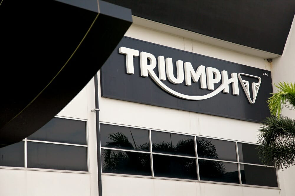 Triumph Thailand Factory Visit by Alan Cathcart