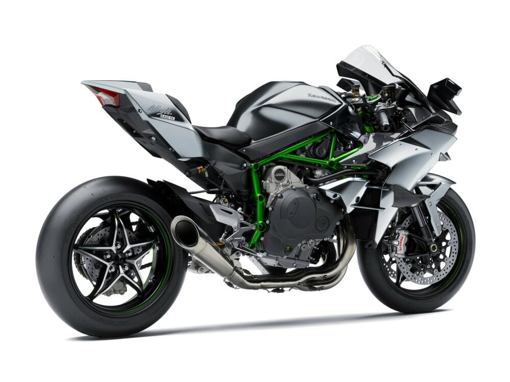2018 Kawasaki Ninja H2r H2 Carbon H2 First Look Cycle News