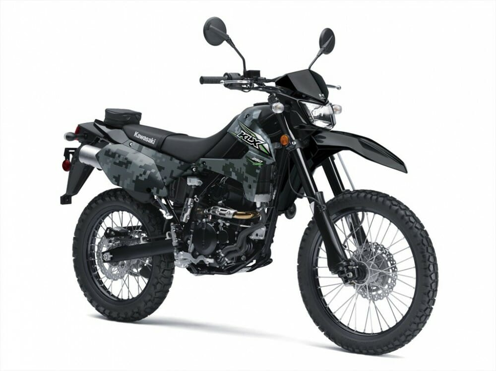 2018 Kawasaki KLX250 EFI First Look