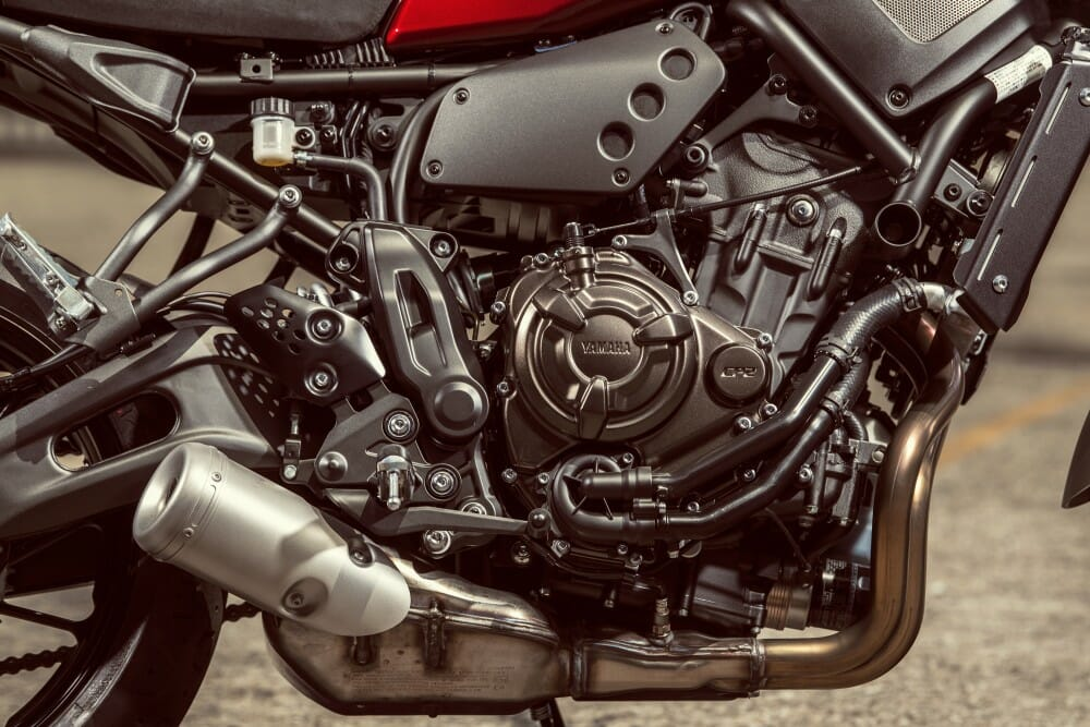 2018 Yamaha XSR700 First Look