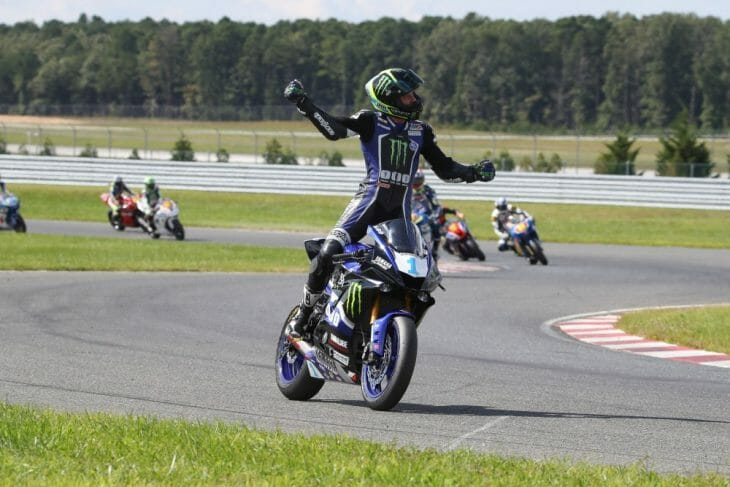 Gerloff was dominant en route to his sixth straight Supersport win. Photo: Brian J. Nelson