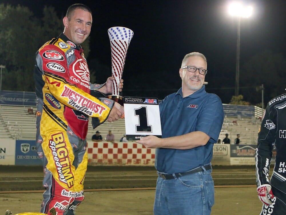 Janniro Wins Eighth AMA National Speedway Title