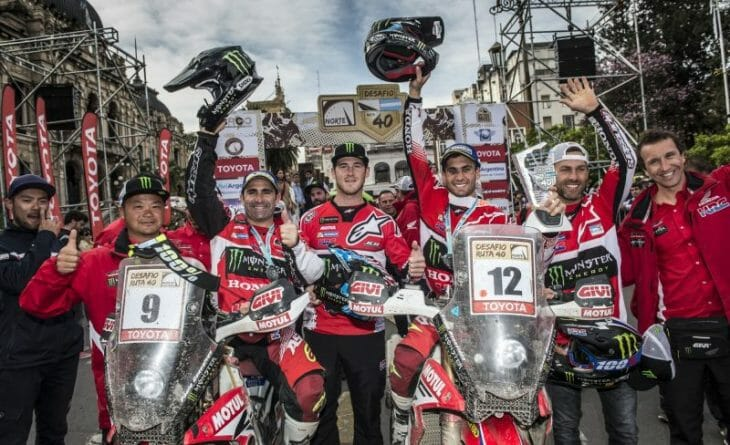 Cross Country Rally - Honda Team Race Report
