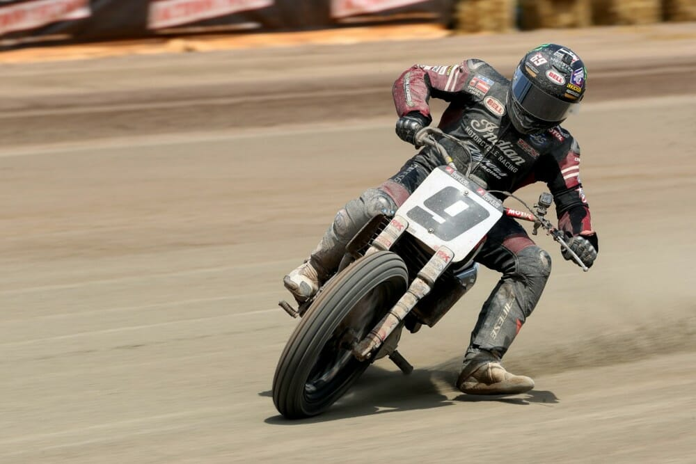 Dunlop - Jared Mees American Flat Track Williams Grove Half Mile