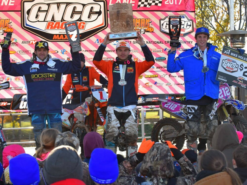 2017 GNCC Ironman Crawfrodsville Results