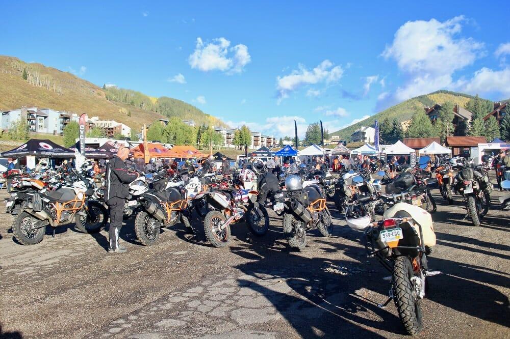 2017 KTM Adventure Rider Rally Vendor Bender | Dunlop