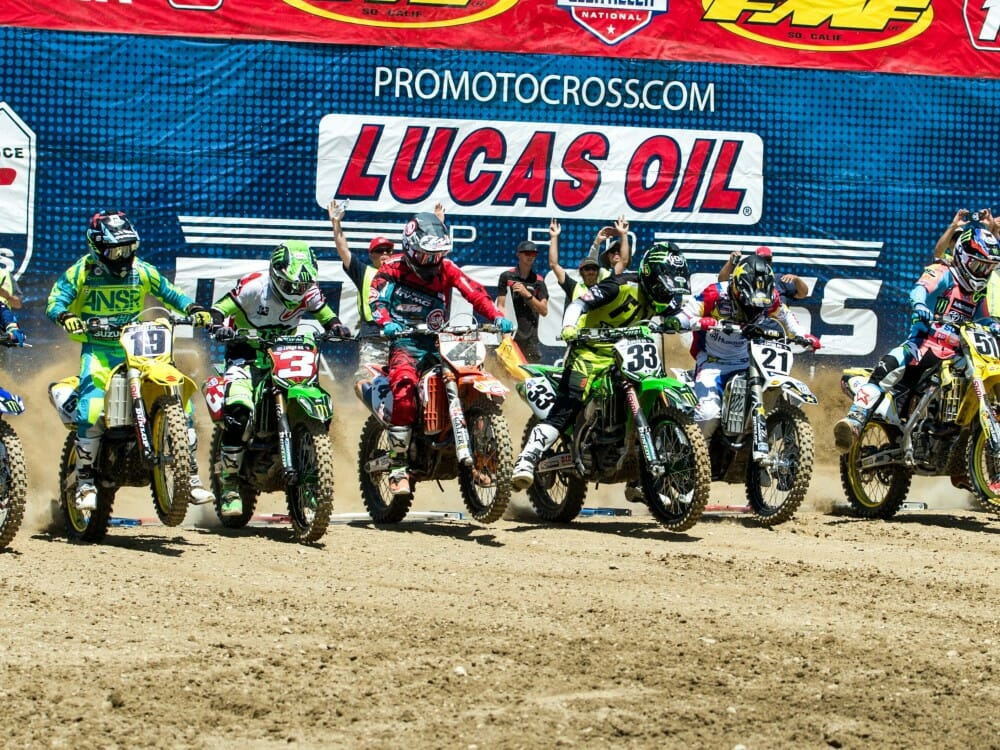 2018 Lucas Oil Pro Motocross Tv Schedule Released Cycle News
