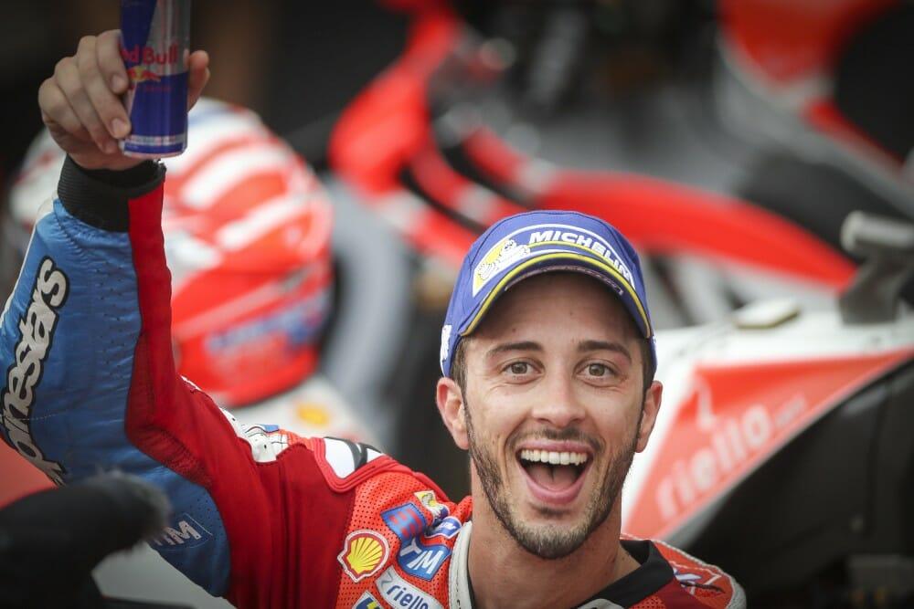 Andrea Dovizioso won at Sepang to keep the MotoGP Championship alive.