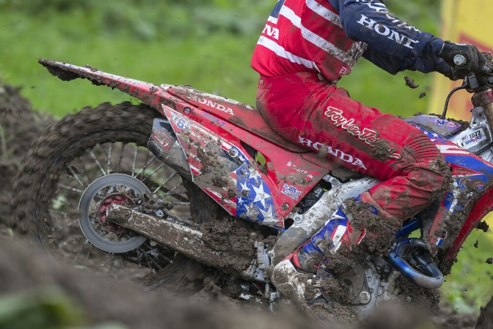 Honda Addresses Shock Failure At Motocross Of Nations