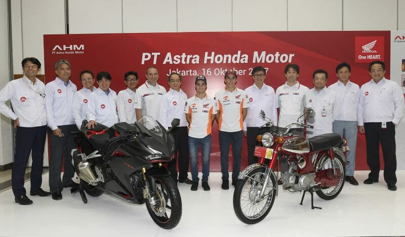 Marc and Dani visit PT Astra Honda Sunter Plant Factory3