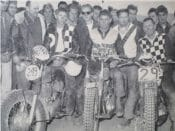 Eddie Mulder (No. 249) poses after winning the prestigious Big Bear National in 1960.