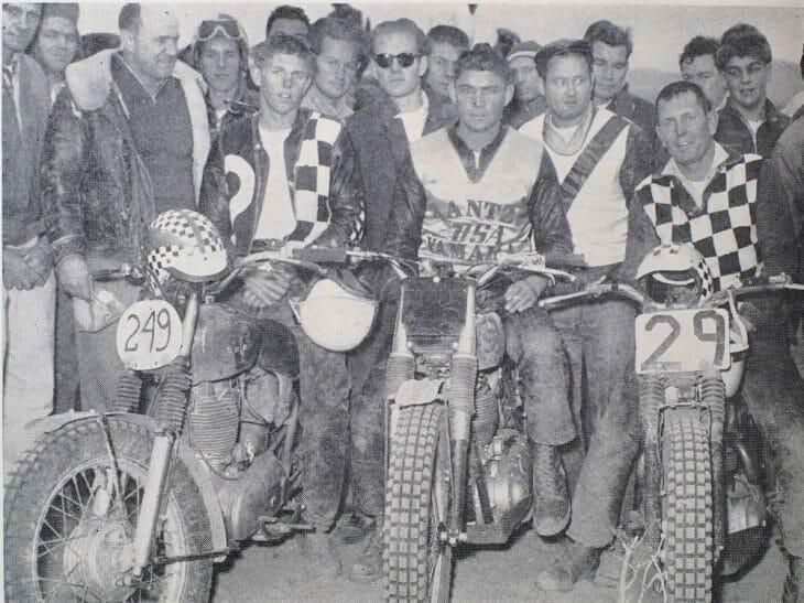 Eddie Mulder (No. 249) poses after winning the prestigious Big Bear National in 1960.