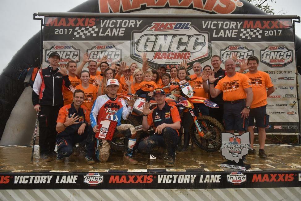 2017 Powerline GNCC Racing Results