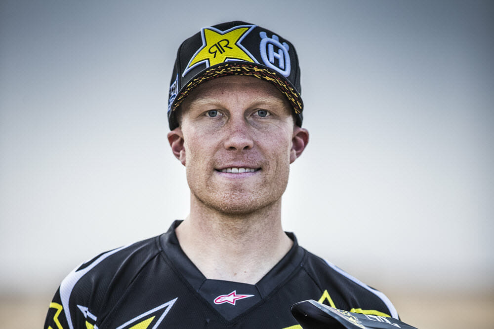 Andrew Short Signs with Rockstar Husqvarna Rally Team