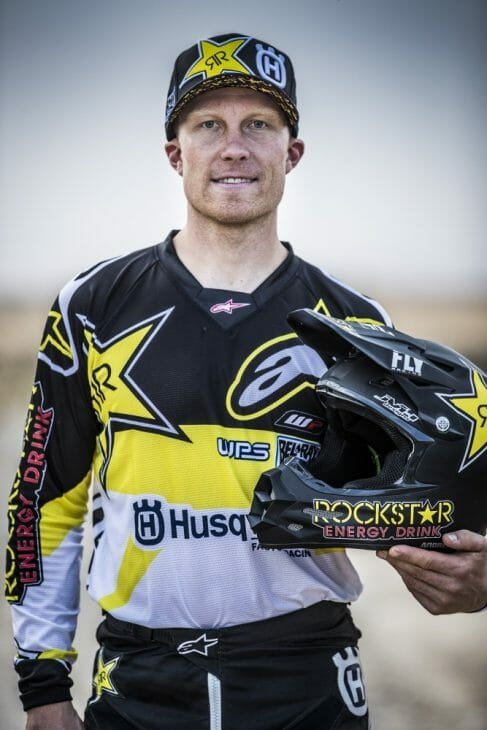 Andrew Short Signs with Rockstar Husqvarna Rally Team for 2018 Dakar Rally