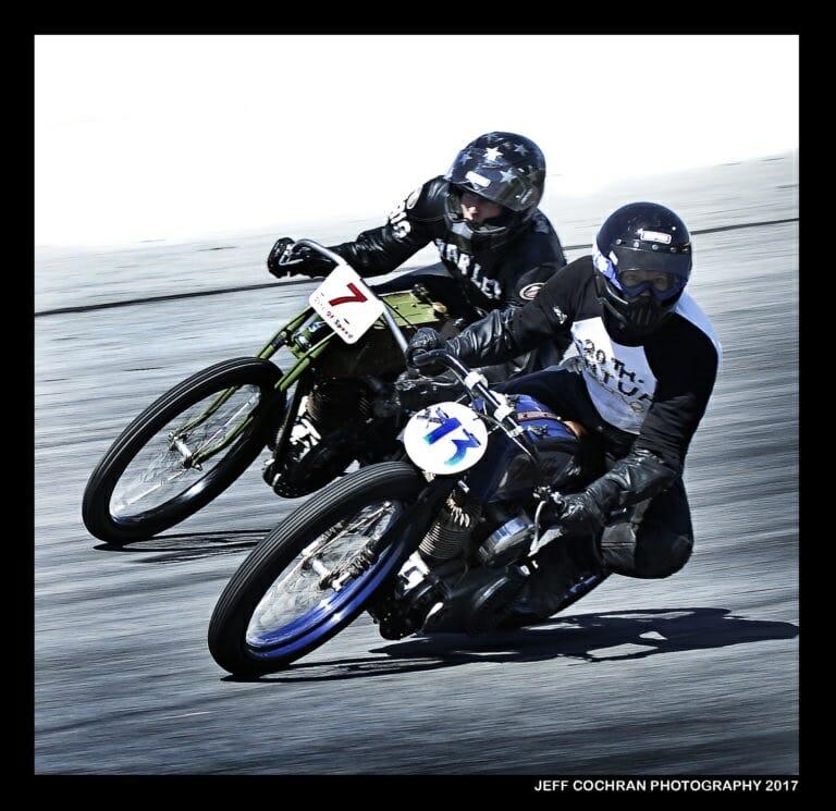 Billy Lane's Sons of Speed boardtrack motorcycle race Daytona Biketoberfest