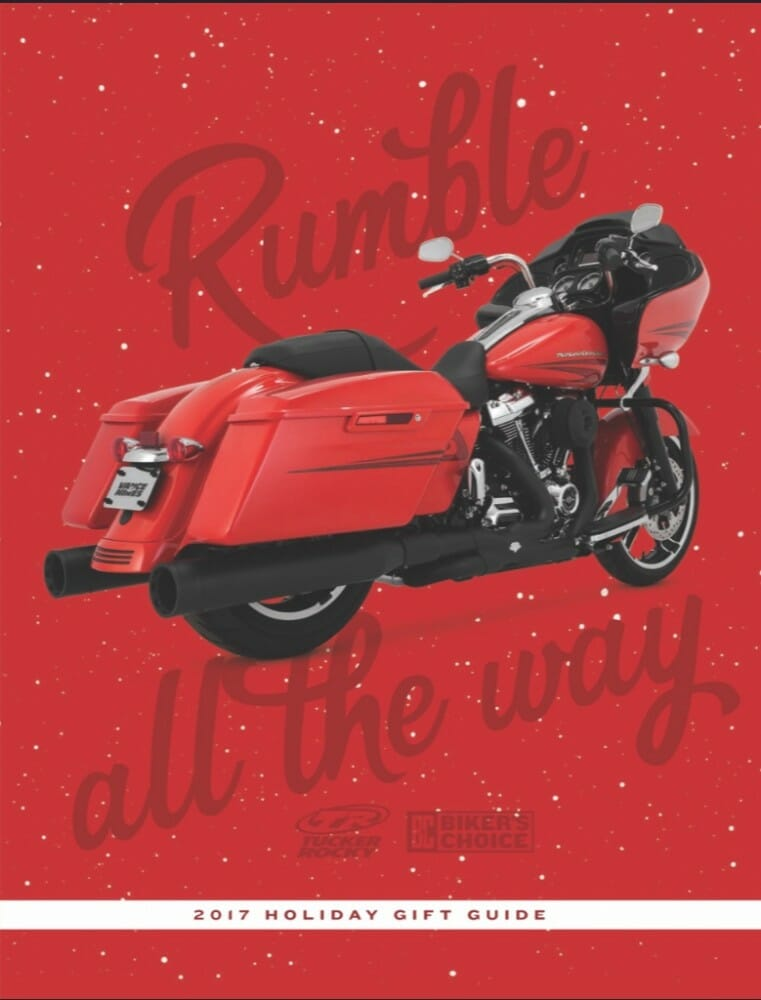 2017 Tucker Rocky | Biker's Choice Gift Guide Available Online