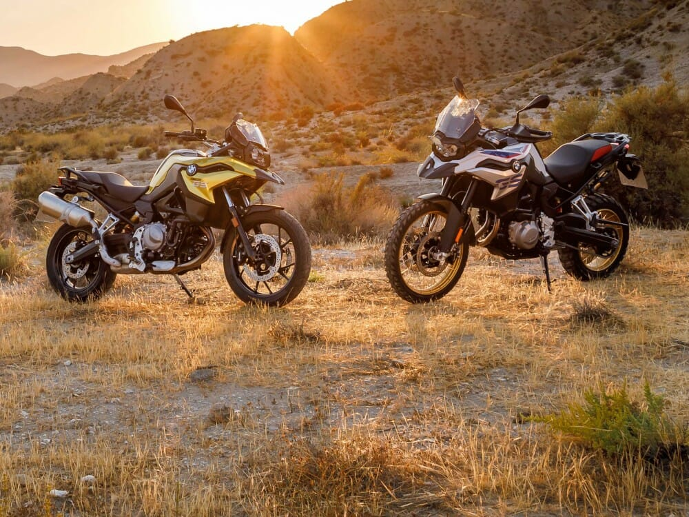2018 BMW F 750 GS and F 850 GS First Look