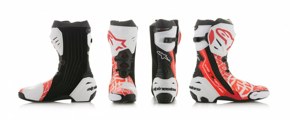 Alpinestars Dani Pedrosa Samurai Supertech R Boots