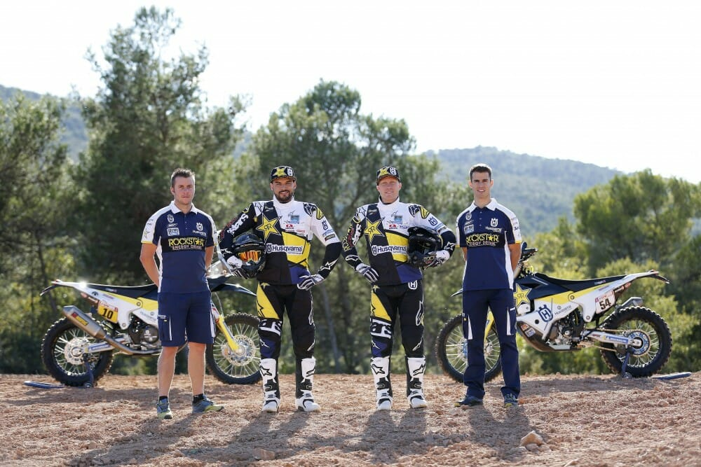 Pablo Quintanilla and Andrew Short to Take on Dakar for Rockstar Energy Husqvarna Factory Racing