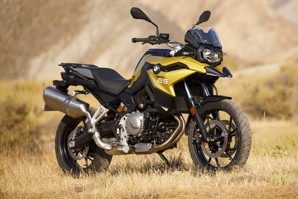 2018 BMW F 750 and F 850 GS