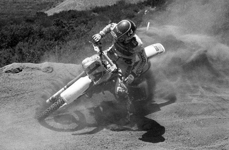 Broc Glover at the 1985 USGP