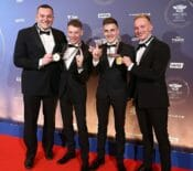 Birchall Brothers Honored to Receive Medals at FIM Awards Ceremony