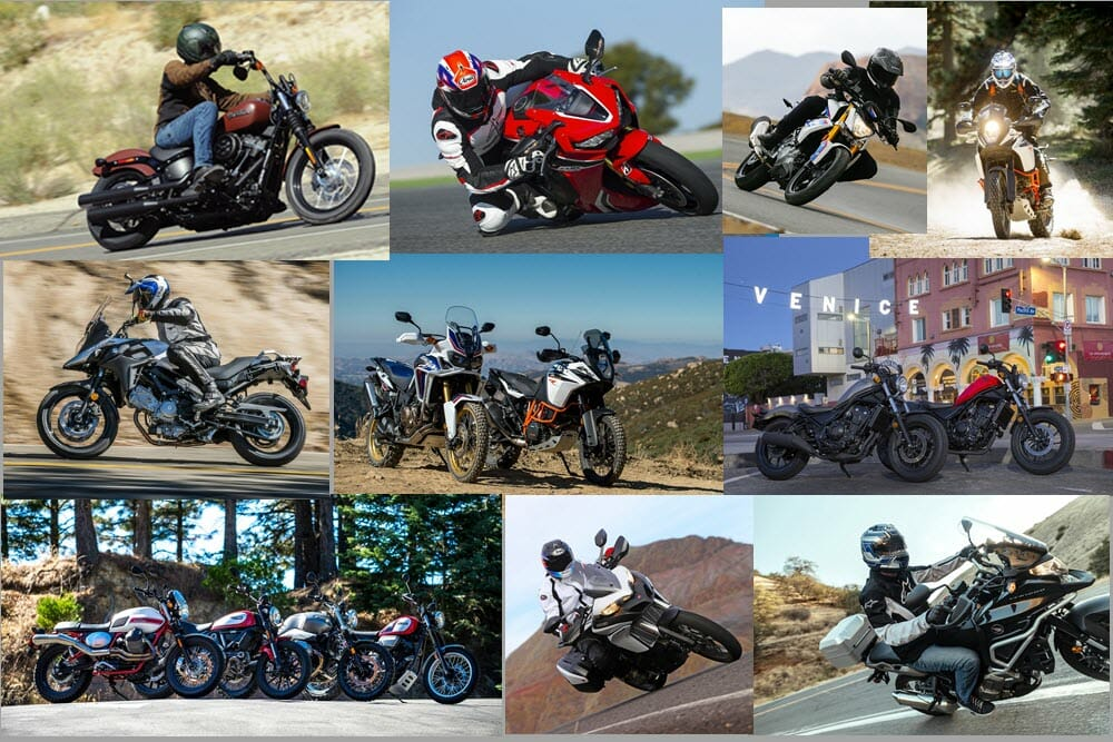 top ten street motorcycle test of 2017 cycle news. Black Bedroom Furniture Sets. Home Design Ideas