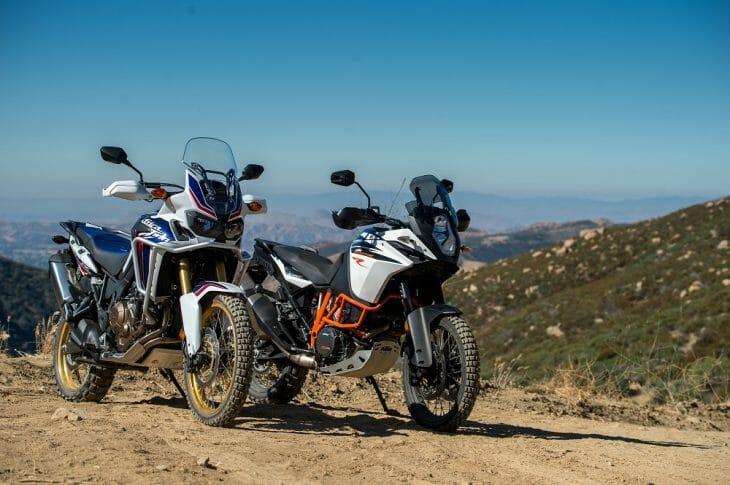 2017 Honda Africa Twin versus 2017 KTM 1090 Adventure