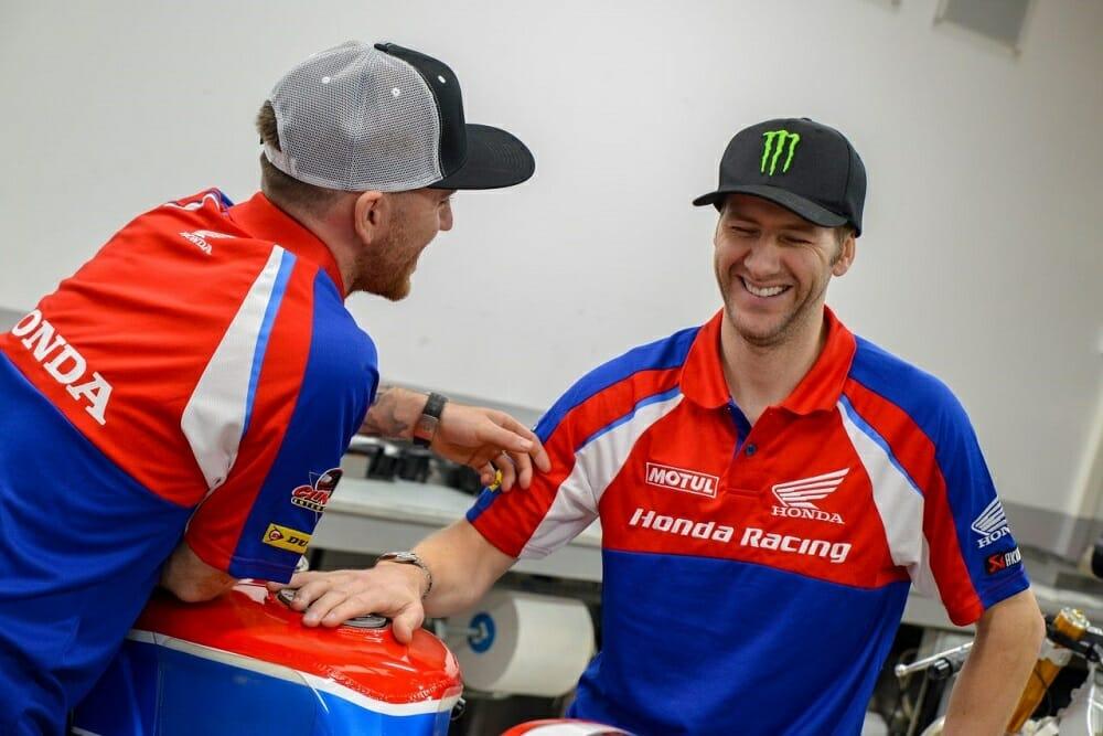 Ian Hutchinson and Lee Johnston Join Honda Racing