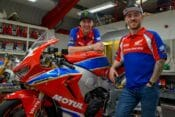 Ian Hutchinson and Lee Johnston Join Honda Racing