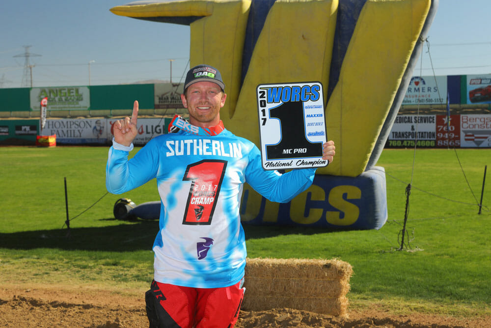 Gary Sutherlin | 2017 WORCS & AMA Hare & Hound National Champion