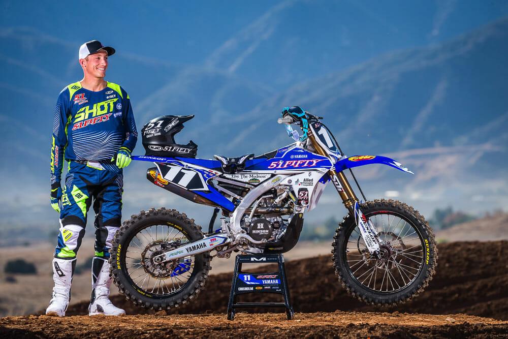 Shot Race Gear Signs Kyle Chisholm for 2018 Racing Season