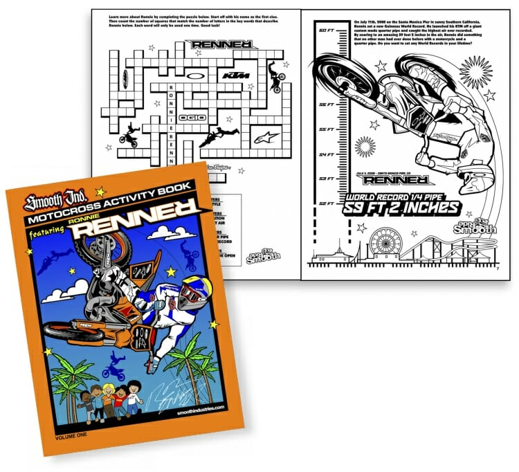 Smooth Industries Renner Coloring Book