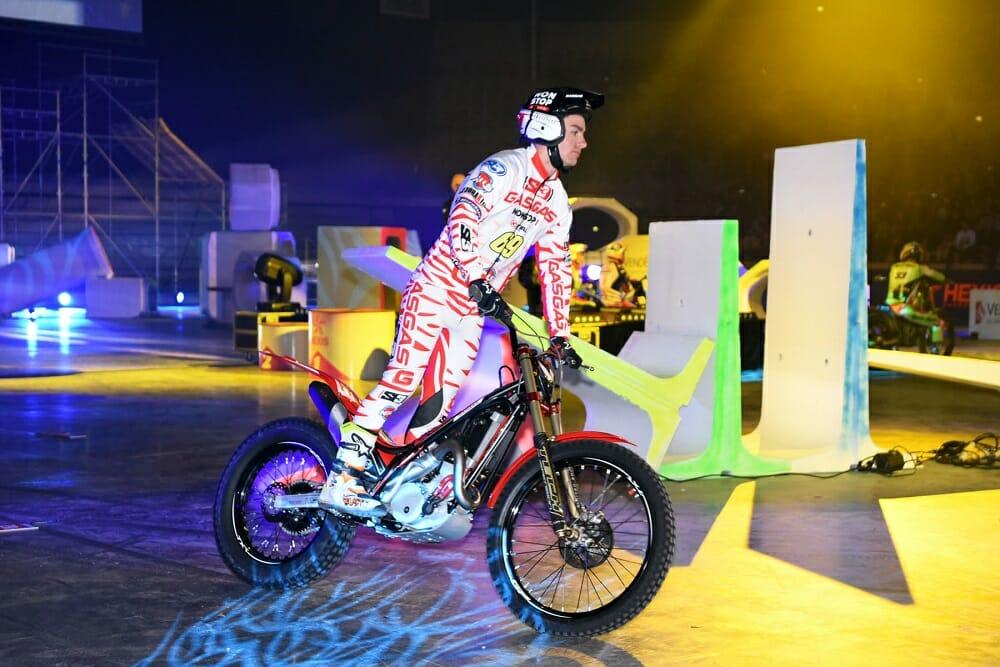 GasGas Rider Jaime Busto at X-Trial Opener