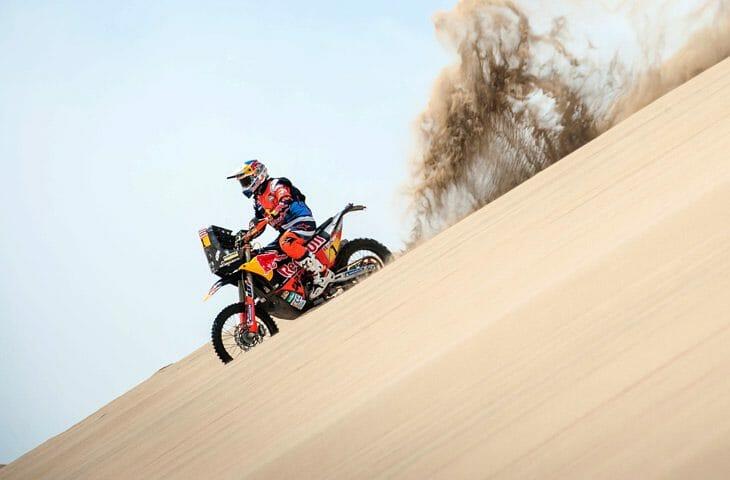 Sam Sunderland Out of Dakar Rally