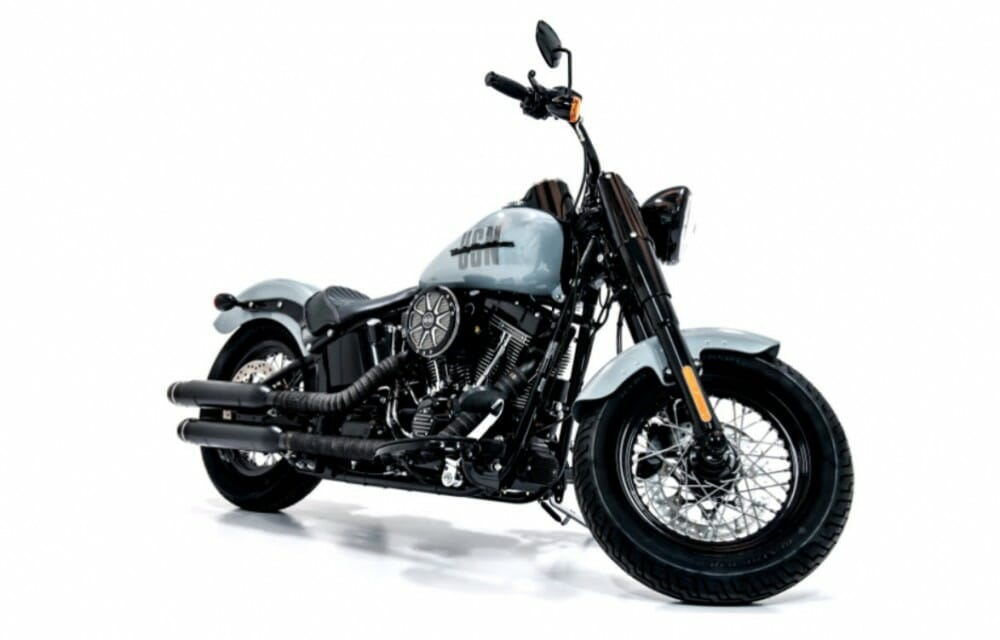 Navy-Inspired Harley-Davidson Up for Auction
