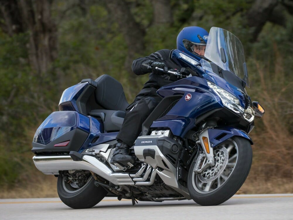 New Honda Motorcycles 2018 >> 2018 Honda Gold Wing Tour DCT: First Test - Cycle News