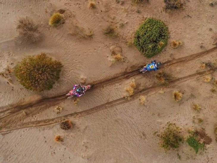 Dakar Rally stage 8 Van Beveren Benavides