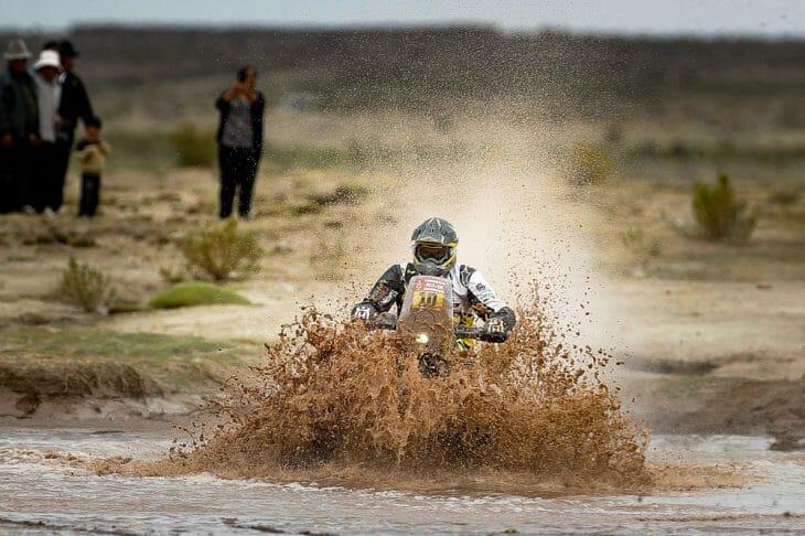 Dakar Rally stage 12