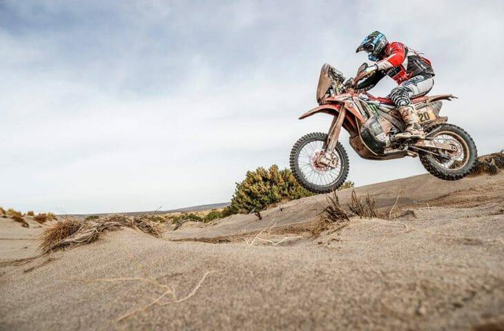 Dakar Rally stage 8 Ricky Brabec