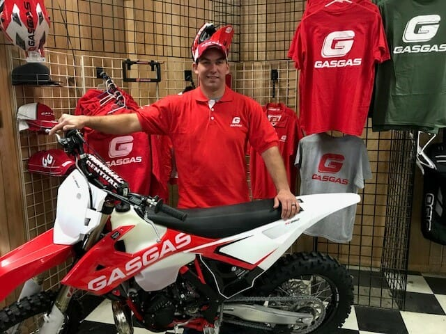 2018 GasGas Off-Road Factory Racing Team USA