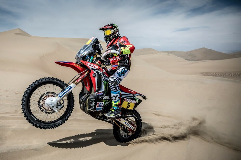 2018 Dakar Rally Stage Two Results