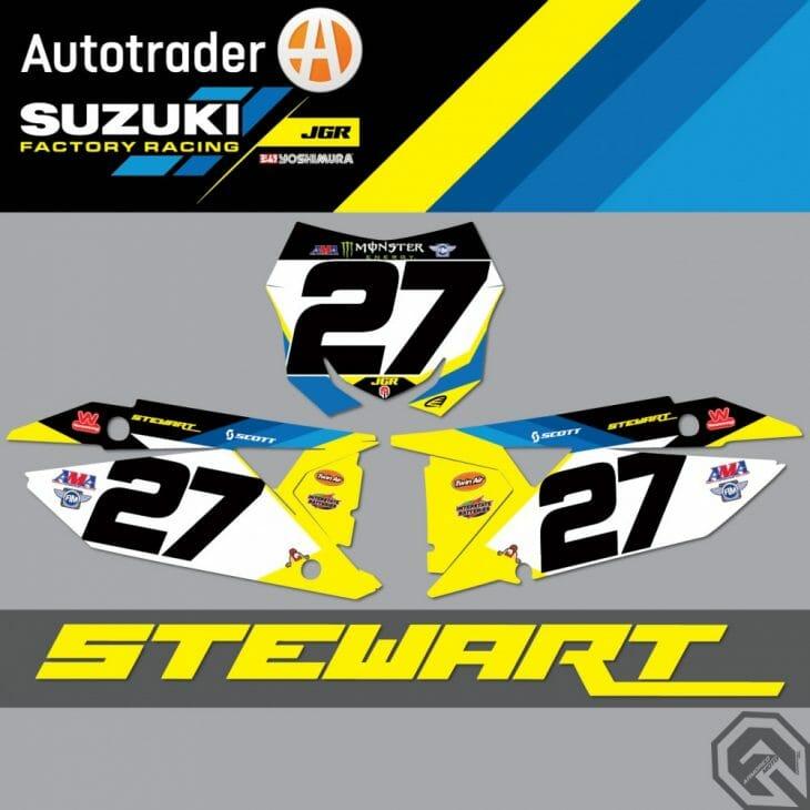 Malcolm Stewart to JGR Suzuki