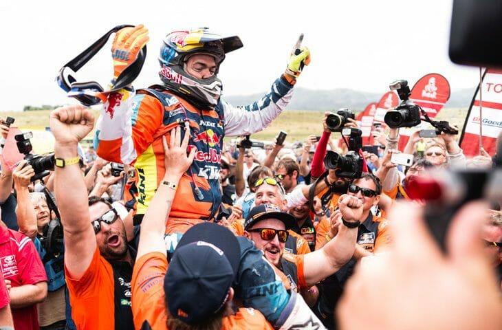 2018 Dakar Rally Results Matthias Walkner