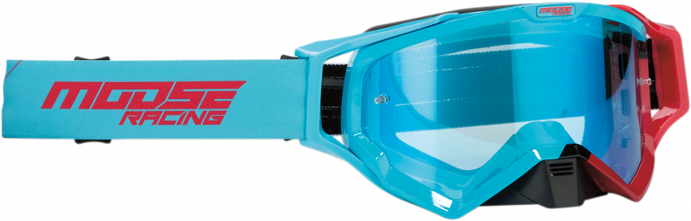 Moose Racing XCR Camo and Hatch Goggles