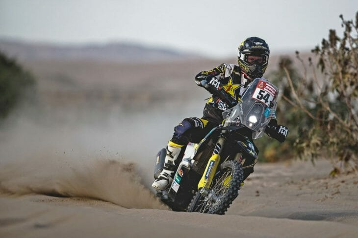 Dakar Rally stage 6 Andrew Short
