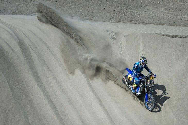 Dakar Rally Stage 5 Report Adrien Van Beveren
