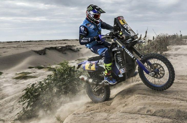 Adrien Van Beveren Dakar Rally Stage 4