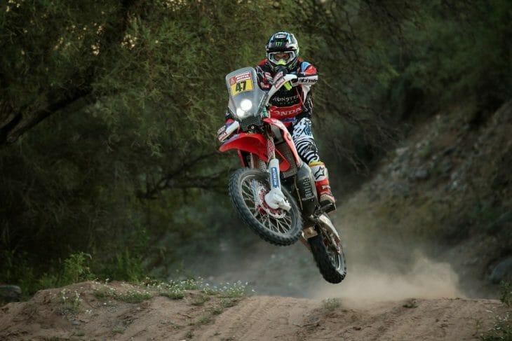 Dakar Rally stage 13 Kevin Benavides